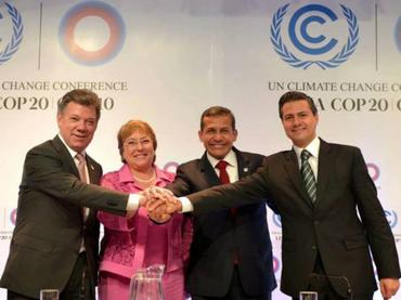 Alianza del Pacífico asume posición común ante cambio climático
