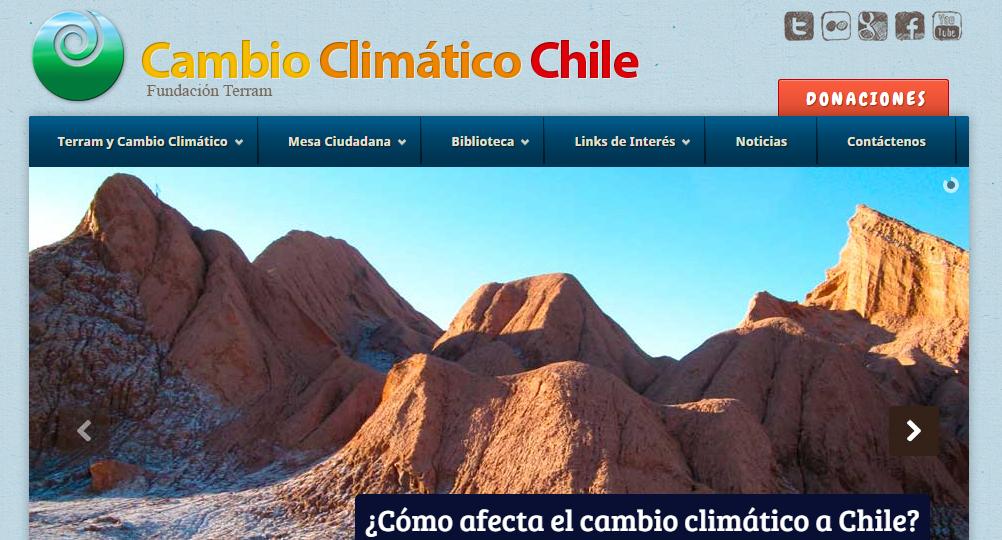 Cambio Climático Chile estrena nueva web