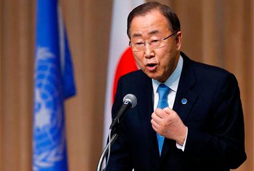 Ban Ki-moon inaugurará reunión sobre cambio climático en el Vaticano
