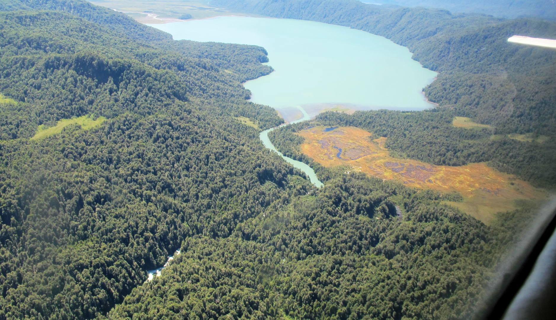 Fiordos chilenos capturan 13% del carbono orgánico del país