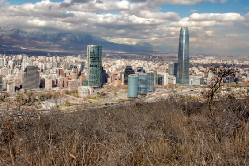 El desierto avanza silenciosamente sobre Santiago
