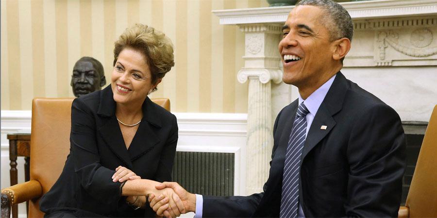 """Obama y Rousseff se comprometen con un acuerdo """"ambicioso"""" para enfrentar el cambio climático"""