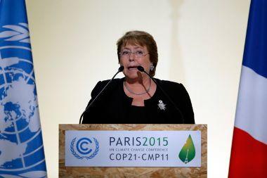 """Bachelet: """"Los países desarrollados son los llamados a ejercer un claro compromiso verdadero y vinculante"""""""