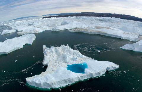 Científicos observan el preocupante deshielo de los suelos en el Ártico