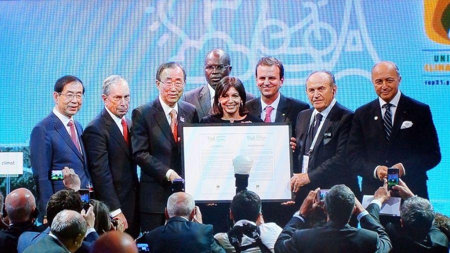 Cerca de 1.000 ciudades se comprometen a lograr el 100% de energías renovables al 2050