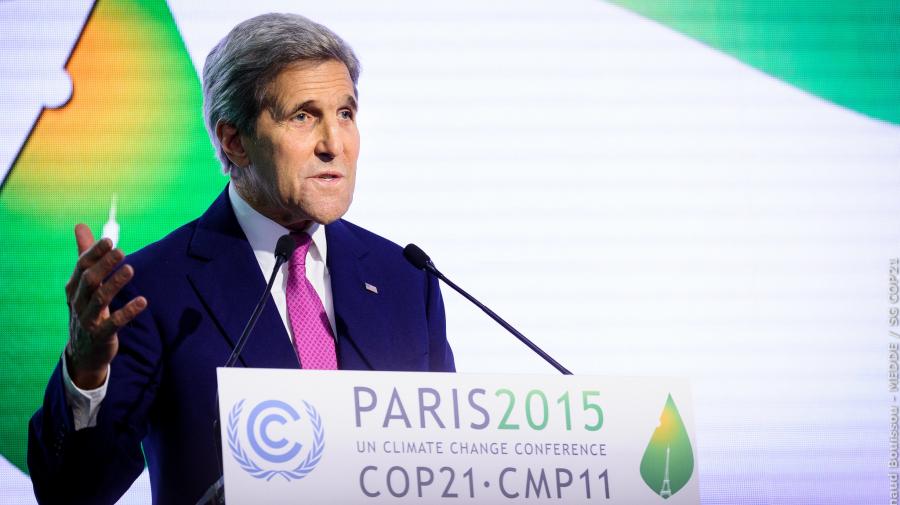 """Kerry advierte de que un fracaso en la COP-21 tendría """"consecuencias históricas"""""""