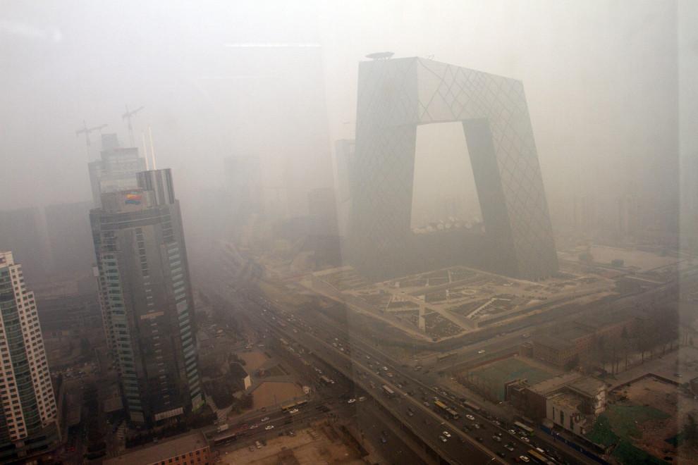 Beijing y norte de China sufren récord de contaminación