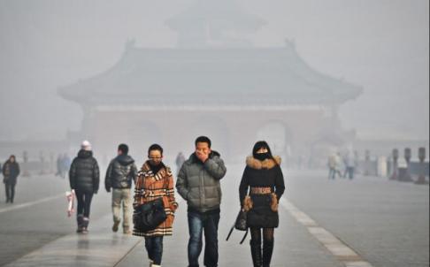 China prevé reducir en 60% sus emisiones de gases hasta el 2020