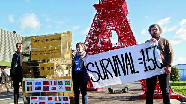 ONGs temen un acuerdo climático tibio en la COP-21