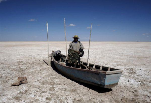 Cambio climático: Así desapareció un lago boliviano